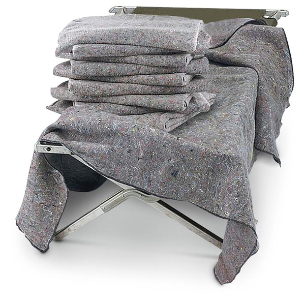 2 Pack of Large Disaster Blanket - Ships Free