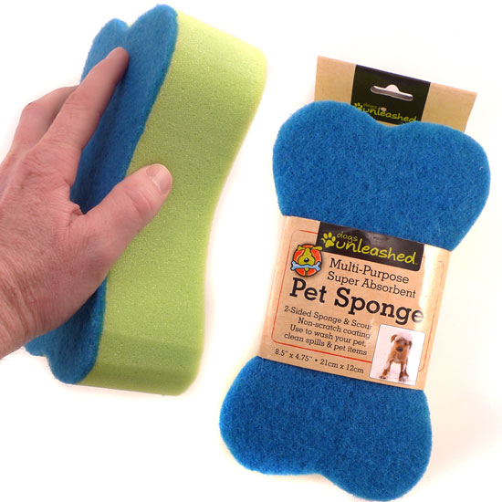 Multi-Purpose, Extra Large Pet Sponge by Dogs Unleashed - Free Shipping