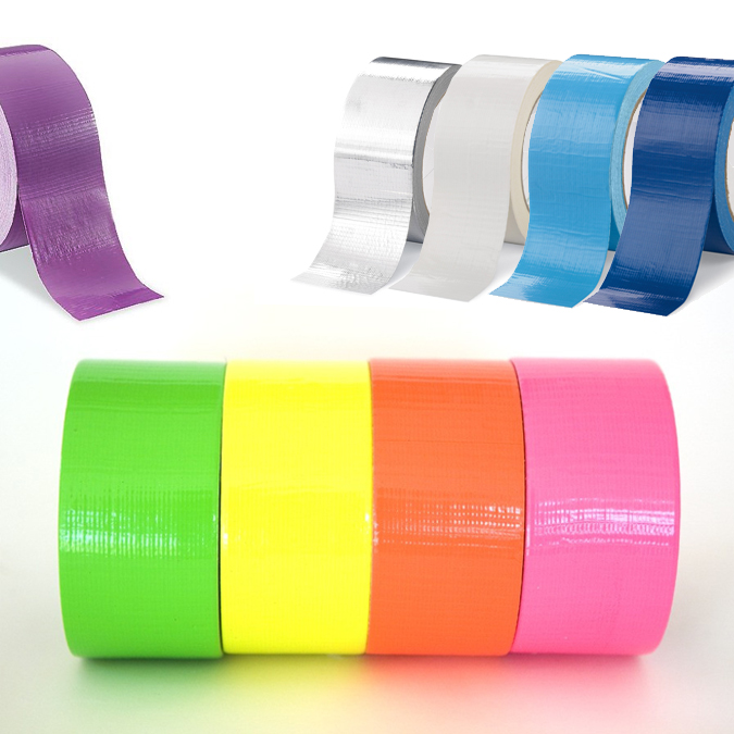 Colored Duct Tape - 9 Colors To Choose From - Including NEON! SHIPS FREE!