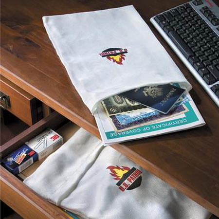Fire Resistant Document Bag - Protects Your Important Documents!