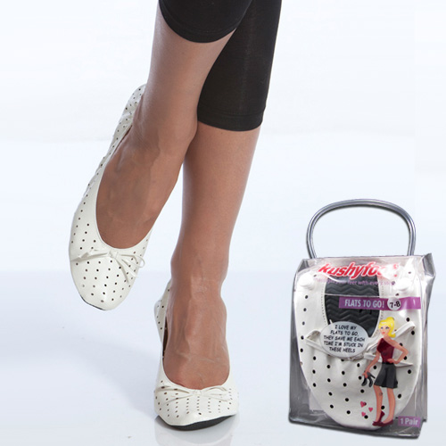 Womens Flats To Go - Save Your Tire Achy Feet! SHIPS FREE!