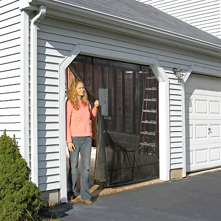 Instant Garage Screen - Available for Single or Double Car Garages!