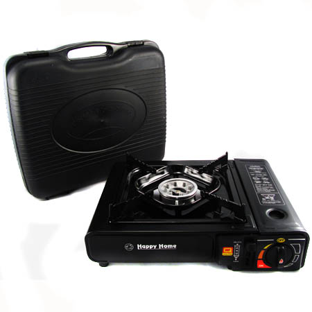 Portable Gas Stove with Carrying Case - Tailgating, Camping and More!