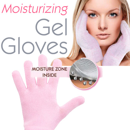 Moisturizing Spa Gel Gloves - For Softer, Supple Hands