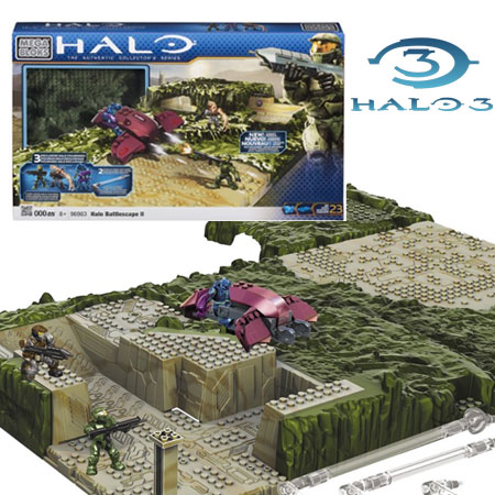 Mega Bloks - Halo 3 Battlescape 2 - Create Your Own Battlescape