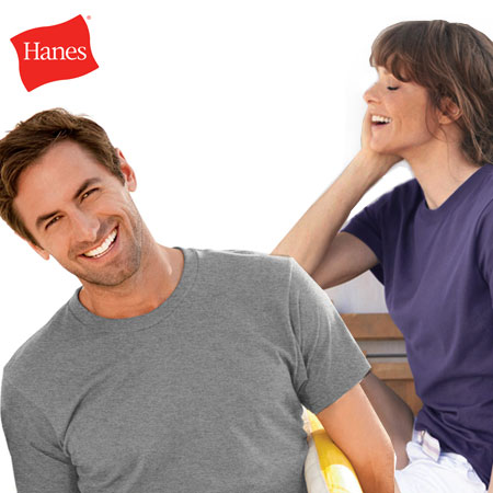 Hanes Men & Womens Ultra Soft Comfort Classic Tees - SHIPS FREE!