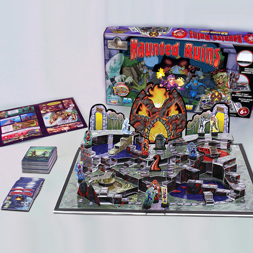 Haunted Ruins - 3D Pop-Up Board Game!