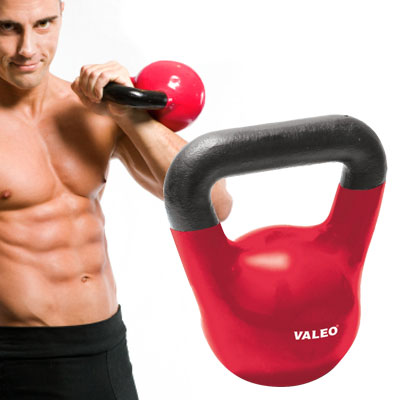 Valeo 25lb Kettlebell - Maximize Your Workouts! - SHIPS FREE!