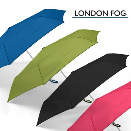 LONDON FOG Mini Auto Open & Close Umbrellas - 4 Colors To Choose From!