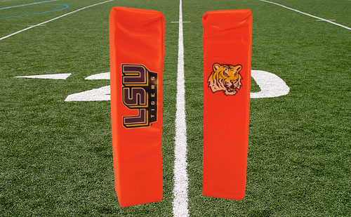 LSU Tigers End Zone Pylon 2 Pack set by Rawlings