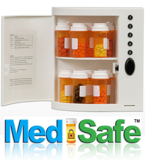 MedSafe Digital Medication Lock Box - Can Save Lives! See VIDEO Below!