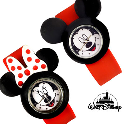 Mickey And Minnie Slap Watches - Choose At Check Out!