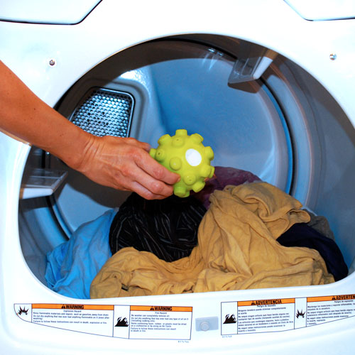 Mr. Steamy Dryer Ball - Soft, Wrinkle Free Clothes Without an Iron or Dryer Sheets - One for $4 or Three for $9! SHIPS FREE!