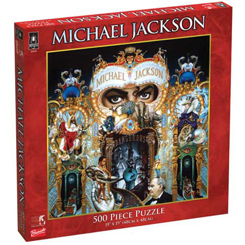 Michael Jackson Dangerous 500 pc. Puzzle - The King of Puzzles!