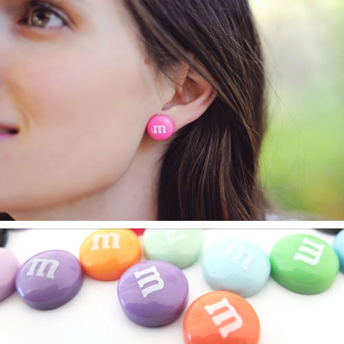 M&M Earrings - SHIPS FREE!