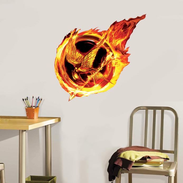 Catching Fire Mockingjay Wall Cling (Compare to Fathead) - SHIPS FREE!