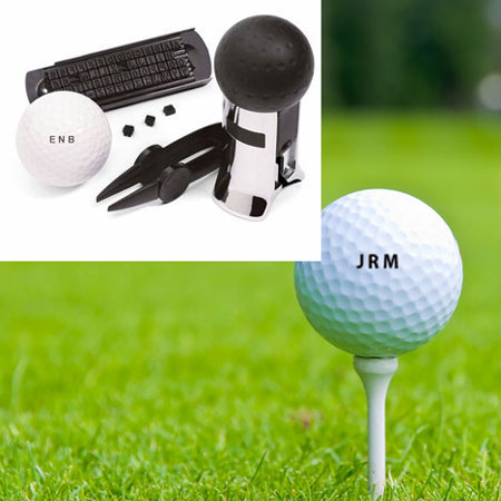 Golf Ball Monogram Stamper - Find Your Balls! SHIPS FREE!