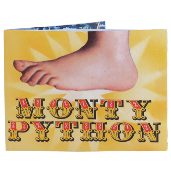 Monty Python Incredible Sonic Talking Wallet - SHIPS FREE!