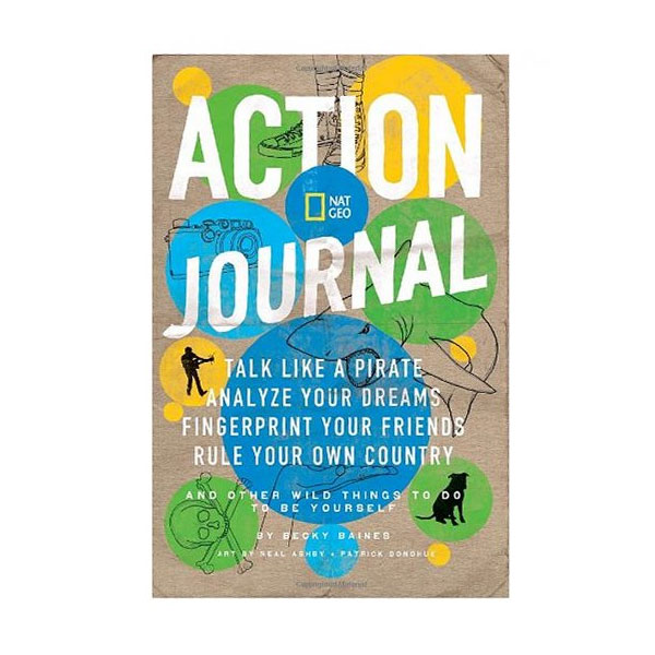 Nat Geo Action Journal: NOT For Boring People - SHIPS FREE!