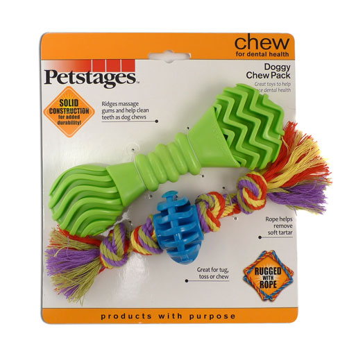 Doggy Chew Pack by Petstages - SHIPS FREE!