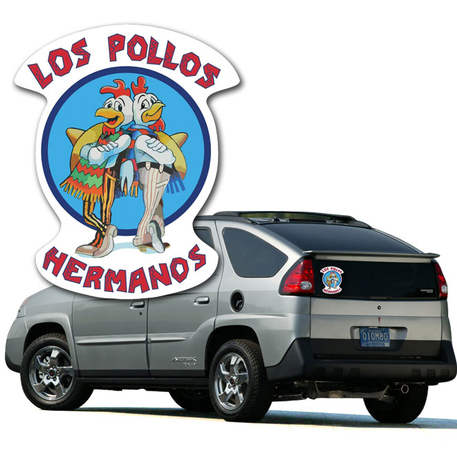 Pollos Hermanos Vinyl Decal (Breaking Bad Inspired) - SHIPS FREE!