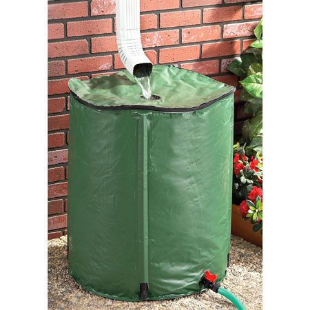 Collapsible Rain Barrel - Collect and Use Pure Rain Water! SHIPS FREE!
