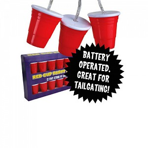 Red Cup Party String Lights - Light Up Your Next Kegger!