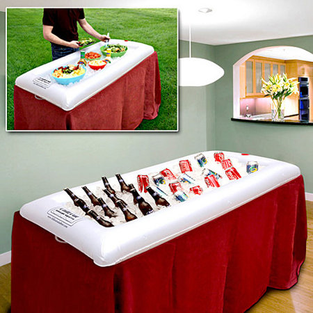 Inflatable Buffet & Drink Cooler - Keep It Cool, Anywhere, Anytime! - SHIPS FREE!
