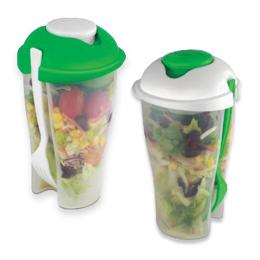 Salad To Go Set 2 Pack - Healthy Lunches Just Got Easy! - SHIPS FREE!