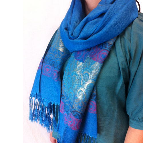 Set of 2 - Ladies Pashmina Scarves - SHIPS FREE!
