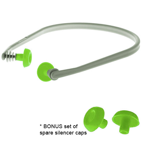 Silencer Band Ear Plugs w/ Extra Caps