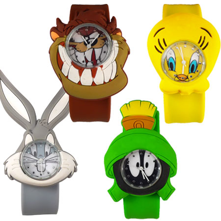 Looney Tunes Slap Watches - Choose At CheckOut