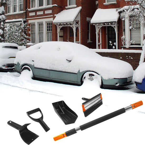 IIT Snow Removal Tool - Removes Snow and Ice With Ease! Ships Free!