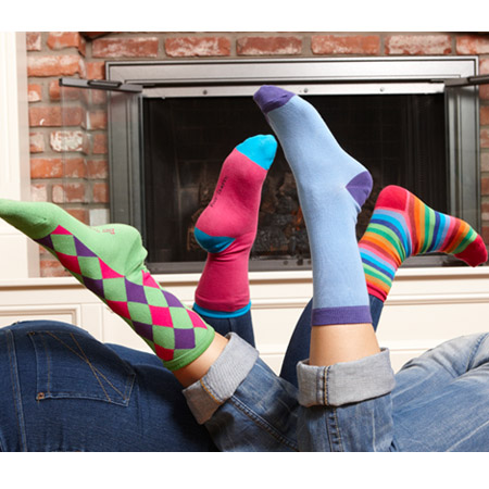 3 Pairs of Fun Mismatched Socks - Because Normal Is Not Fun! - SHIPS FREE!