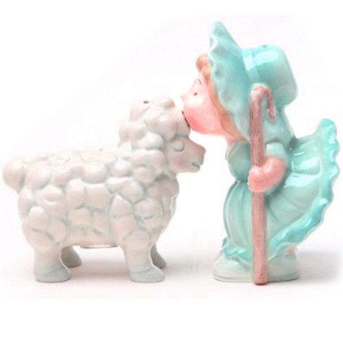Attractives Magnetic Salt n Pepper Shakers - Little Bow Peep
