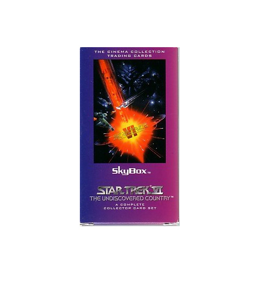 SkyBox Star Trek VI The Undiscovered Country - A Complete Collector Card Set