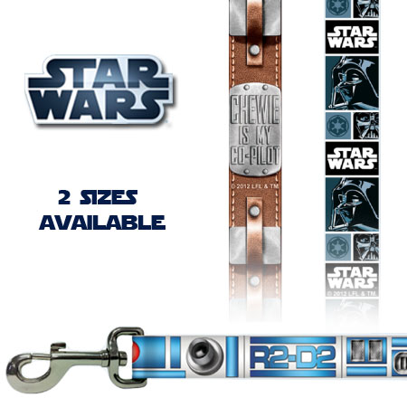 Star Wars Leashes - May The Force Be With You AND Your Dog! Ships FREE