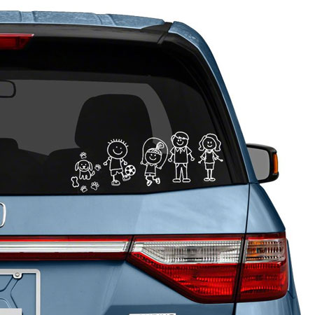 Our Family Auto Stickers - Lots To Choose From, SHIPS FRE!