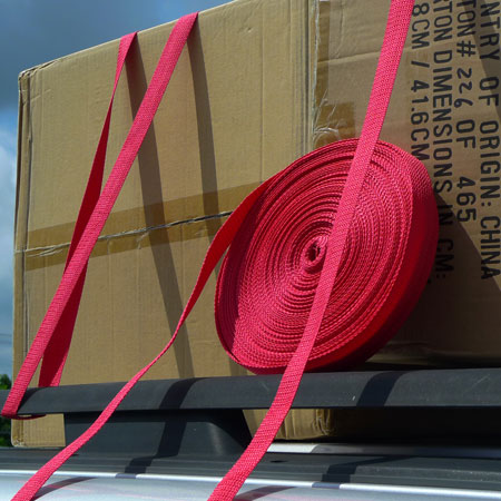 165 Feet Of Polypropylene 215lb Strapping!