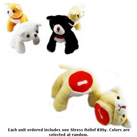 Stress Relief Kitty - Rip Somethings Head Off! SHIPS FREE!
