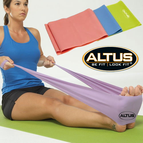 Altus Athletic 4-Foot Latex Exercise Bands - SHIPS FREE!