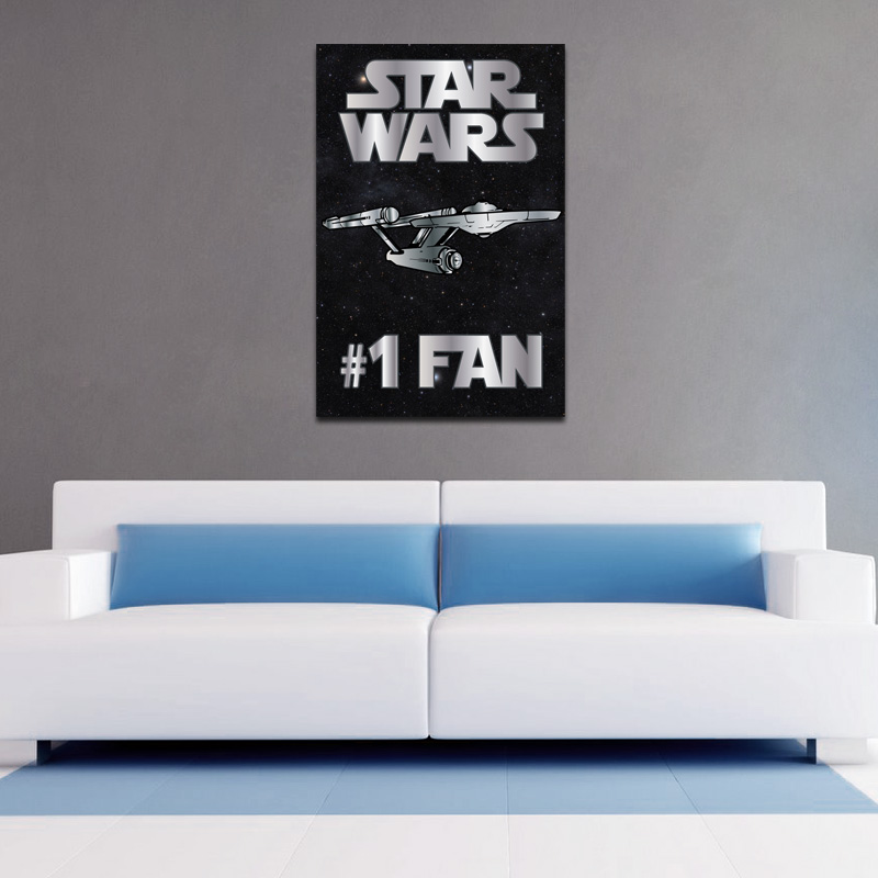 Star Wars #1 Fan - Poster - (2 Sizes Available) SHIPS FREE!