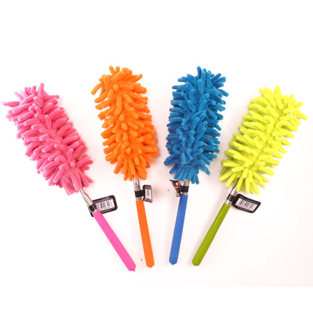Telescoping Microfiber Duster - Extends to 30 Inches! - SHIPS FREE!