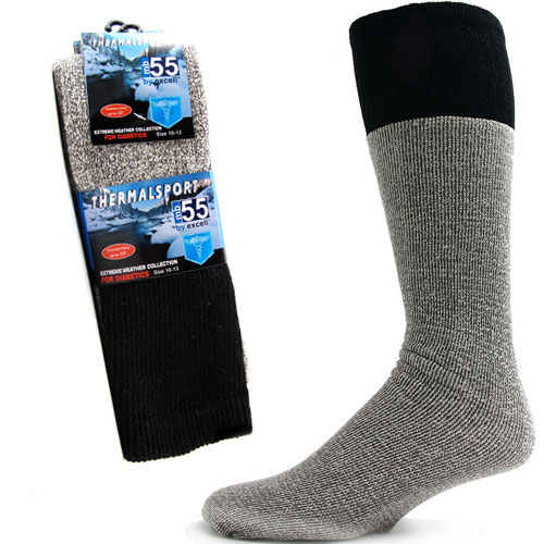 3 Pairs of ThermalSport Extreme Weather Diabetic Socks - SHIPS FREE!