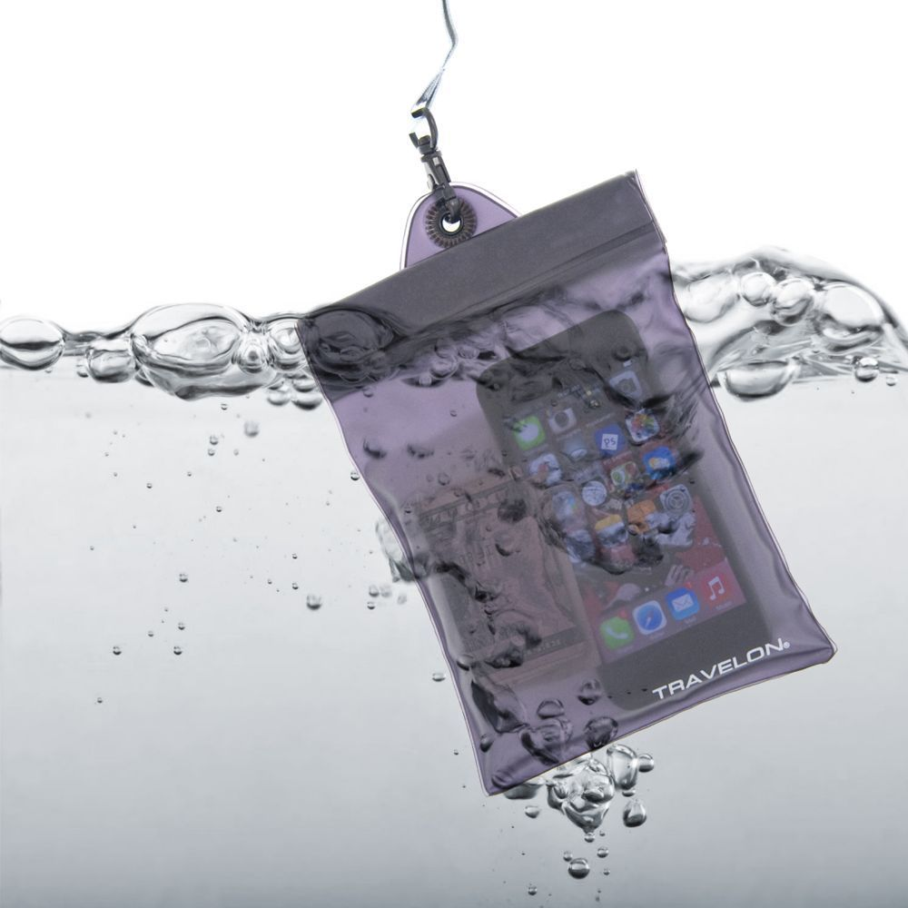 Travelon Waterproof Floating Airtight Pouch - Great for Electronics and More! SHIPS FREE!
