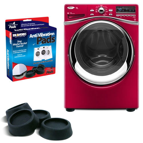 Anti Vibration Pads - Quiets Down Your Noisy Washing Machine!