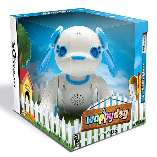 Wappy Dog Game with Interactive Toy for Nintendo DS