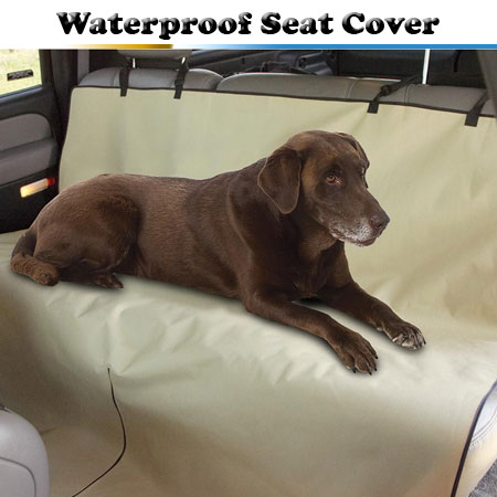 Waterproof Pet Seat Cover - Protect Your Investment!