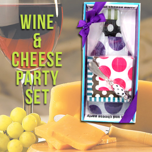 Wine & Cheese Summer Party Set - Perfect For Housewarming Or Entertaining!