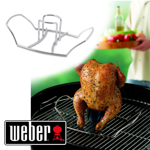 Weber Original Poultry Roaster - Beer Can Chicken Made Easy!